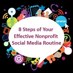 8 Steps of Your Effective Nonprofit Social Media Routine - Clairification Narrativa Digital, Social Media Engagement, Criminal Defense, Non Profit, Storytelling, Reading, Multimedia, Routine, Lawyers