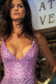 Stephanie Seymour - Atelier Versace Couture, spring/summer 1995