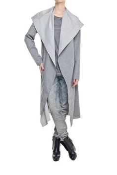 Grey coat from Jemioł Basic collection - just MUST HAVE