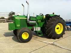 JD 5020 with V-8 Repower
