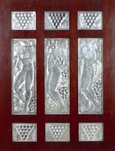R. Lalique Panel Joueur De Pipeau Dos