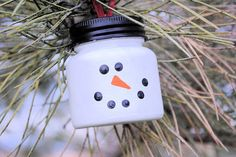 Easy Snowman Christmas Ornament