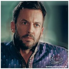 "Craig Parker as Lord Narcisse, Reign 2х21 ""The Siege"""