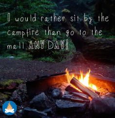 It is the best of times around the campfire! -This was the most popular post of 2013 for us and for good reason! Here's to more camping, more RVing and hours outdoors around the campfire! Camping Glamping, Camping And Hiking, Camping Life, Camping Meals, Camping Hacks, Camping Rules, Camping Stuff, Family Camping, Outdoor Life