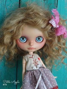 Custom BLYTHE doll LOVE by Marina Petite Apple by PetiteAppleShop