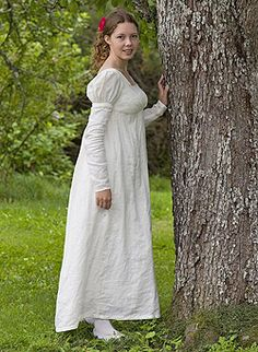 Dress Pattern - Jane Austen - Regency Gown Jane Austen Online Giftshop