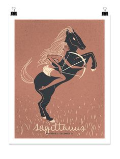 SAGITTARIUS Print! Sagittarians always seem to be on-the-go. They love to learn about alternative ideas or cultures and share what they've discovered. They're known for their occasional bluntness and strong sense of optimism. The print comes with the description and framing & handling instructions. Priced from $15/ea | Available in 3 sizes! From ZOZO -- Available on Etsy at Etsy.com/Shop/ZodiacZone.