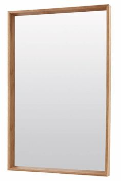 House Doctor Oak mirror. The perfect mirror to combine with all your Scandinavian furniture to create the Nordic look!