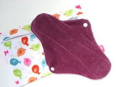 Set of 5 Organic Velour Cotton Menstrual by JuliansBoutique, $24.99