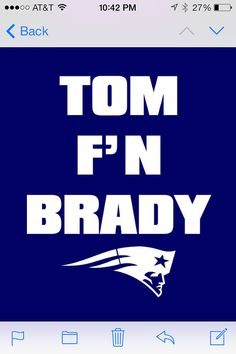 New England Patriots Tom Brady