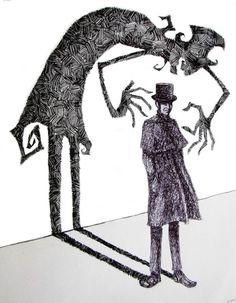 caricatures al hirschfeld dr jekyll mr hyde pics - Google претрага