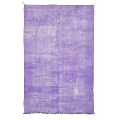 """Moroccan Flatweave Wool Rug 7'10""""x11'11"""" ($2,240) ❤ liked on Polyvore featuring home, rugs, lavender rug, flatwoven rug, moroccan tribal rugs, flat-weave rug and moroccan rug"""