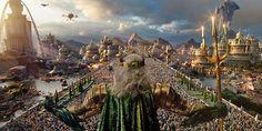 Aquaman's Seven Kingdom of Atlantis Explained