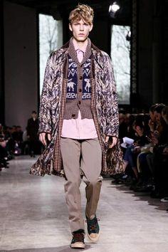 Kolor Menswear Fall Winter 2014