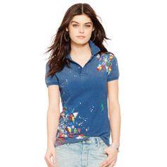 Polo flaco-Fit Shirt - Polo Ralph Lauren de la novedad - Ralph Lauren Francia