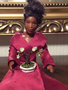 Helen, doll by Taru Astikainen, with applebonsai