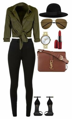 Cute college outfits · date night 💄🍷 high waisted skinny trousers, fashion tv, autumn fashion, victoria Retro Outfits, Mode Outfits, Fashion Outfits, Womens Fashion, Fashion Trends, Fashion Fashion, Ladies Outfits, Fashion Ideas, Fashion Games