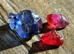 Did you know that Ruby and Sapphire are both the same gemstone? It's called Corundum. The name Sapphire is used for all colors except for red which is called Ruby!