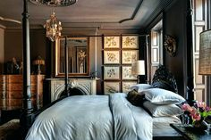 Masculine Interiors that She Will Like Too   Brown - laurel home: THE HOME OF ROBIN STANDEFER AND STEPEHN ALESCH