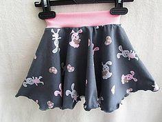 Detské oblečenie - Sukňa ružové zajačiky - 8251566_