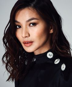 Gemma Chan photographed by Hew Hood Gemma Chan, Pearl Earrings, Drop Earrings, Fashion Models, Beautiful People, Photoshoot, Bright, Poses, Actresses