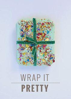 Wrap it pretty : Original gift wraps