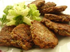 PATLICAN KÖFTESİ TARİFİ Turkish Recipes, Ethnic Recipes, Meatloaf, Tandoori Chicken, Eggplant, Casserole, Brunch, Turkey, Pasta