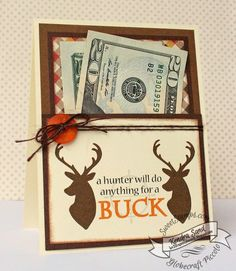 Luv 2 Scrap n' Make Cards, Kendra Sand, SweetStamps.com, Big Bucks Stamp set, Masculine Birthday Card