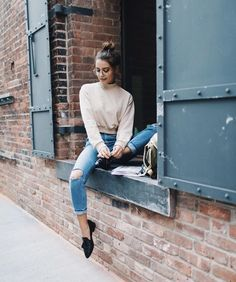 """1ac8d7400bb I show you some school outfit ideas... aka how to style sweatshirts and  tees a bit differently. Enjoy! xx…"""""""