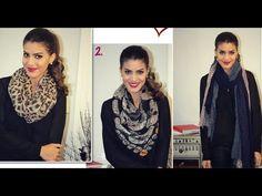 Diferentes maneiras de Usar CACHECOL ou Lenco! Por Camila Coelho | Different ways of wearing scarfs or handkerchiefs by Camila Coelho (in Portuguese)