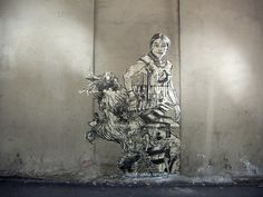 Swoon:  Street art at its best...
