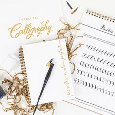 A calligraphy kit. | 25 Gifts For People Who Care More About Paper Than Humans