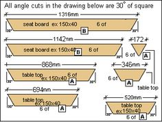 The Measurements Metric Wood Table In 2019 Wooden