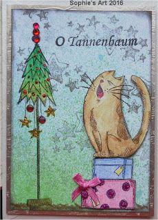 Sophie's Art: O Tannenbaum  -  O Christmas Tree