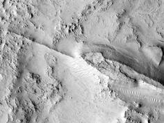 Ridge Northwest of Nili Fossae, Mars. Source: uahirise.org