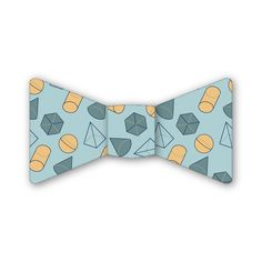 Geometry in Blue Bow Tie