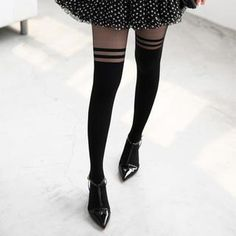 Buy '59 Seconds – Striped Mock Hold Up Tights' with Free International Shipping at YesStyle.com. Browse and shop for thousands of Asian fashion items from Hong Kong and more!