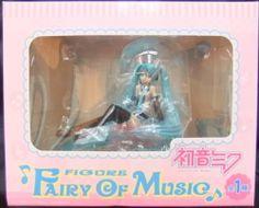 セガ プライズ ボーカロイド 初音ミク フィギュア-Fairy of Music- 全1種