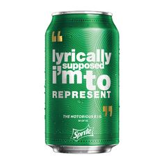 2 | Sprite Ethers The Competition By Putting Nas, Biggie, Rakim, and Drake Lyrics On Limited Edition Cans | Co.Create | creativity + culture + commerce