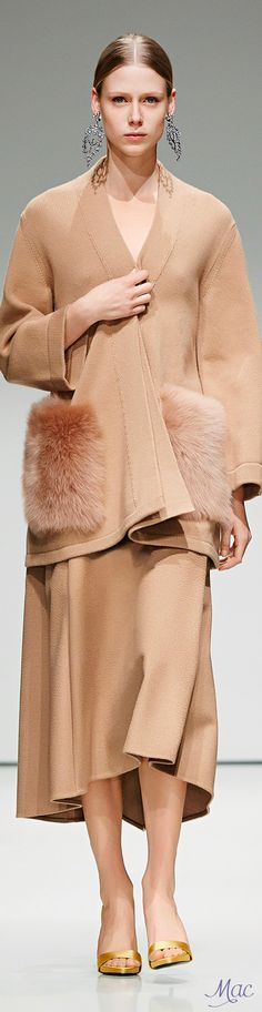 Fall 2016 Ready-to-Wear Escada women fashion outfit clothing style apparel @roressclothes closet ideas