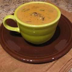 Hungarian Mushroom Soup Recipes Best Restaurants, Deals, Coupons, Recipes and all things Food. Hungarian Cuisine, Hungarian Recipes, Hungarian Mushroom Soup, Mushroom Soup Recipes, Soups And Stews, Family Meals, Stuffed Mushrooms, Cooking Recipes, Favorite Recipes
