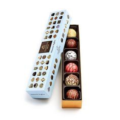 Imported from America and not available in the UK!  Godiva Luxury Patisserie Truffles - box of 6