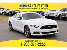 Check this out! This car is my dream ride. So trendy 2017 Ford Mustang, Oxford White, Car Insurance, Mustangs, Santa Fe, Check, Mustang