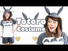 Totoro is so cute and fluffy! This DIY will show you how to make your own Totoro onesie which is super comfortable and easy to make!