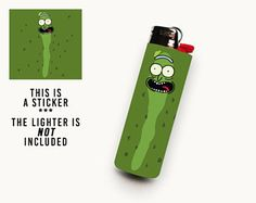Pickle Rick Tattoo, Ricks Tattoo, Cartoon Smoke, Captain America Suit, Cool Lighters, Bic Lighter, Puff And Pass, Rick And Morty, Light Painting