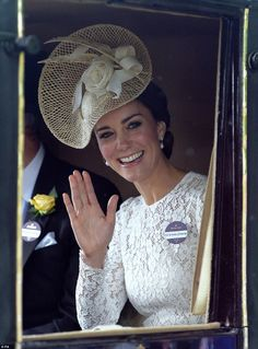 The Duke and Duchess of Cambridge Attend Royal Ascot