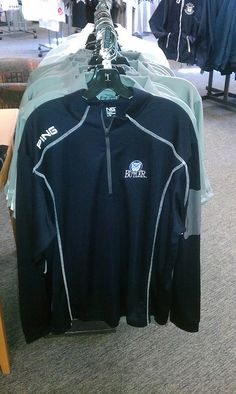 $65.  Available at the Butler Bookstore  Ping Quarter Zip by butler bulldogs, via Flickr Butler Basketball, Butler Bulldogs, Butler University, Adidas Jacket, Blue And White, Zip, Jackets, Jacket, Suit Jackets