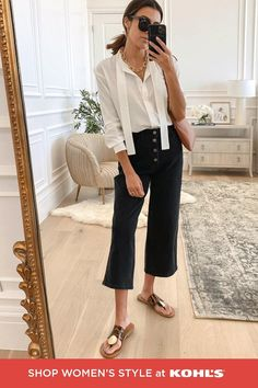 Office Outfits Women, Casual Work Outfits, Work Casual, Stylish Outfits, Work Attire, Autumn Fashion Women Fall Outfits, Womens Fashion, Kohls Outfits, Summer Work Wardrobe