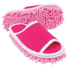 Slipper Genie Microfiber Cleaning Slippers...Get those pesky corners without getting on hands and knees