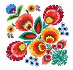 Inspire Bohemia: Wycinanki: Polish Paper Art   =.... traditional Polish paper cutting ... flowers ...